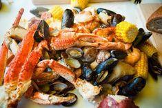Crab Pot Restaurant in Seattle.. sure miss this
