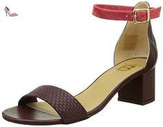 Bensimon F15241C707, Sandales Femme, Rouge (Bordeaux), 36 EU - Chaussures bensimon (*Partner-Link)