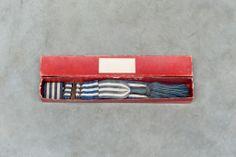 antique sash in original box