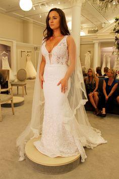 Season 14 Featured Dress: MZ2 by Mark Zunino. Sweetheart, rouching, mermaid with full bottom. $2,900.