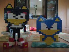 Lego Hedgehogs by SonicAdvance.deviantart.com on @DeviantArt