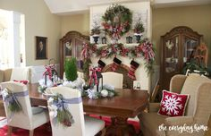 2015 Christmas Dining Room | The Everyday Home