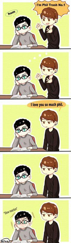 Phil and Dan: