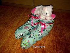 Done By Ana : Etxeko zapatillak (eta 2)    Zapatillas de casa (y...