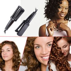 Only $13.64 , CkeyiN Mini Portable Electric Hair Curler Curling Tongs Personal Hair Styling Tool Professional Curling Iron Hair Care Styler