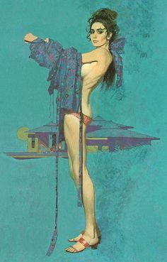 Illustration by Robert McGinnis (b.1926).