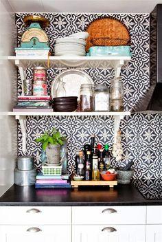 marokkolaiset laatat keittiö - Google Search