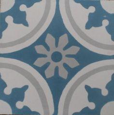 1e Zementfliese orientalische Fliese bunte blau dekorative Fliese Bad Radia 1536