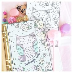 Just released this cute owl printable dashboard! Perfect for owl lovers Link in bio Owl Printable, Printables, Planner Dashboard, Cute Planner, Planner Inserts, Cute Owl, How To Draw Hands, Doodles, Lovers