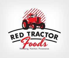 Logo Design (Design submitted to Red Tractor Foods (Closed) Tractor Logo, Red Tractor, Print Design, Logo Design, Design Design, Farm Logo, Typo Logo, Logo Restaurant, Red Logo