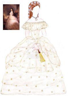 Empress Elisabeth doll clothing by maya40.deviantart.com on @deviantART
