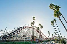 National Register #87000764  Looff Carousel and Giant Dipper Roller Coaster  Santa Cruz Beach Boardwalk  Beach Street and Leibrandt Svenue  Santa Cruz.
