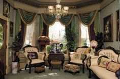 Get Dramatic Color the Victorian Way - http://www.victorianhomesmag.com/get-dramatic-color-victorian-way/