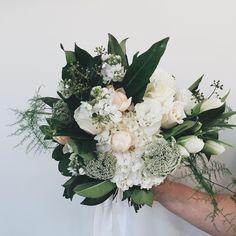 For Jess 30-5-16 ClassicSimpleElegant was Jess's brief.Bouquet design by Brooke. Venue:@mtduneedestate Roses:@sohoroses #theflowerdispensary #theflowerdispensaryteam