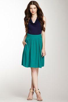 Pippa Pop Crepe Skirt