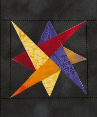 star placemat pattern