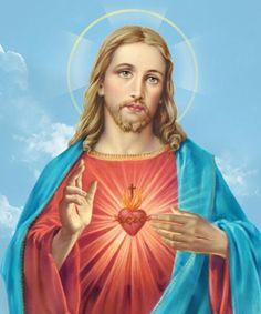 Jesus Our Savior, Jesus Prayer, Heart Of Jesus, Jesus Is Lord, Christ The Good Shepherd, Jesus E Maria, Pictures Of Jesus Christ, Miracle Prayer, Christ The King