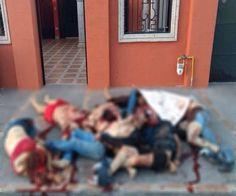 Abandonan 9 cuerpos apilados afuera de una vivienda en Nuevo Laredo | El Puntero