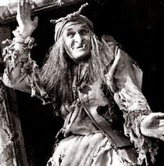 Baba Yaga, the old witch who lives in the Cabin on Chicken Legs