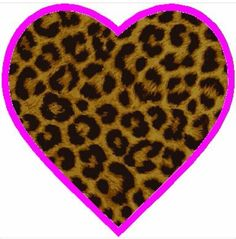 This is what my heart looks like lol! Cheetah Print, Leopard Prints, Animal Prints, Leopard Room, My Other Half, Beauty Room, Happy Day, Custom Clothes, Iphone
