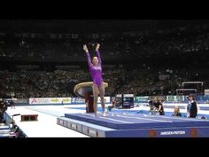 McKayla Maroney - Vault 1 - 2013 World Championships - Event Finals - Yes she won gold once again!