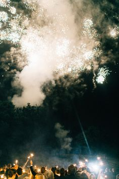 fireworks at the end of the night | geneoh photography