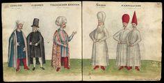 Códice de trajes  Fecha entre 1501 y 1600? Datos de edición S.XVI Tipo de Documento Libro