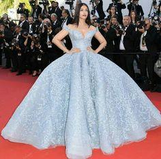 Aishwarya Rai in Michael Cinco - Cannes 2017