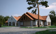 Home - Brindza Tivadar Detailed Drawings, Building Materials, Software Development, Cabin, House Styles, Modern, Group, Home Decor, Hungary