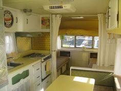 refurbishing yellowstone camper trailer - Google Search