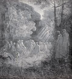 Druids Trees:  Ancient Druids in the grove.