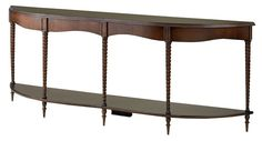 Good narrow console for pass-through spaces - BINGHAM CONSOLE #3179 Dimensions:77w x 13d x 30h