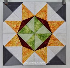 July - Dulcet Star Lucky Star, Feeling Great, Quilts, Blanket, Stars, Rugs, Home Decor, Scrappy Quilts, Farmhouse Rugs