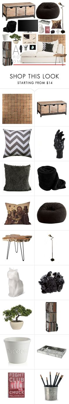 """""""Oh, these are kinda fun."""" by daddys-little-monster on Polyvore featuring interior, interiors, interior design, home, home decor, interior decorating, NLXL, Cyan Design, D.L. & Co. and Comfort Research"""