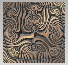 Vector geometric pattern in EPS, AI, DXF format available immediately after purchase - instant download. Original model size 1000x1000mm (39x39in). File is resizable. V-carve with V-bit 90, 120, 150 Grad. If you wish to receive file in other format, please feel free to contact me. All