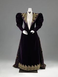Dress  c.1893  Rijksmuseum