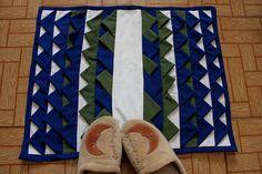 Feito por Mim! O artesanato para iniciantes!: Aprenda o Passo à Passo do Lindo Tapete de Retalhos