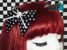 Rockabilly playing card Hair Clip by MissHapp on Etsy, $8.00