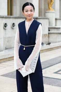 FASHION DOT CD           - streetofstyle:   Yoyo Cao