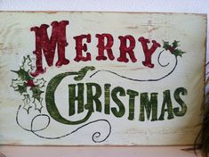 Your place to buy and sell all things handmade Christmas Projects, Christmas Art, Vintage Christmas, Merry Christmas Signs, Christmas Canvas, Christmas Patterns, Christmas Kitchen, Christmas Pictures, Merry Xmas