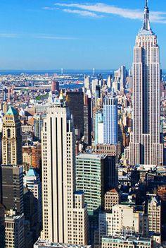NYC Skyline.  #NYC