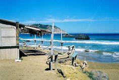 Playa de Aguas Blancas. Ibiza Lunch & cocktail: chiringuito
