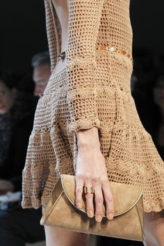 Salvatore Ferragamo dress #crochetdressinspiration