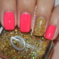 Can't go wrong with pink and glitter
