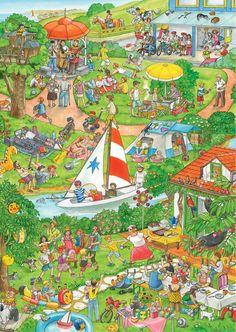Das große Jahreszeiten-Wimmelbuch: Amazon.de: Anne Suess: Bücher