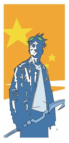 Matthew Dow Smith: Sketchbook: Starman