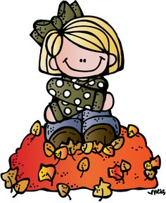 FREE Fall clip art image from my dear friend Nikki at Melonheadz Illustrating. Visit her blog to download the image. :)