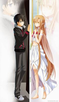 SAO, i want a relationship like them:D