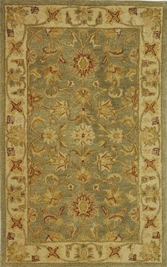 $770 for 8x11  Safavieh Antiquities II AT-313 Green / Gold (A) Area Rugs