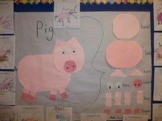 Mrs. Wood's Kindergarten Class: Pigs Brace Map
